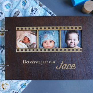 houten fotoboek oftewel fotoalbum
